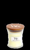 WoodWick Linen Liten Burk (Nytvättat Linne)