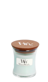 WoodWick Pure Comfort Liten Burk (Fruktig ton av nytvättade lakan)