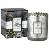 Voluspa White Currants & Alpine Lace Boxed Scalloped Doftljus
