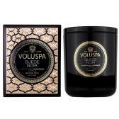 Voluspa Doftljus Suede Noir Classic Boxed Candle