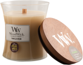 WoodWick Vanilla Bean Medium Burk (Vanilj)