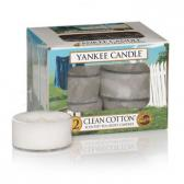 Yankee Candle Clean Cotton Teljus/Värmeljus