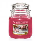 Yankee Candle Frosty Gingerbread Doftljus Medium
