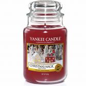 Yankee Candle Christmas Magic Doftljus Large