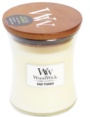 WoodWick Baby Powder Medium Burk (Babypuder)