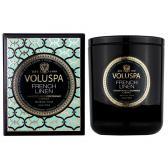 Voluspa Doftljus French Linen Classic Boxed Candle