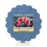 Yankee Candle Mulberry & Fig Delight Smältvaxkaka för aromalampa