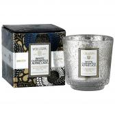Voluspa White Currants & Alpine Lace Mini Pedestal Doftljus